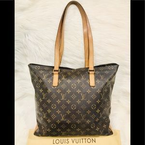 Authentic Louis Vuitton Cabas Mezzo #2.2Q